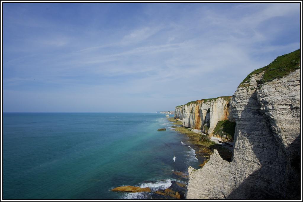 Sortie en Normandie avec des falaises, la mer, les vaches .... K5007608