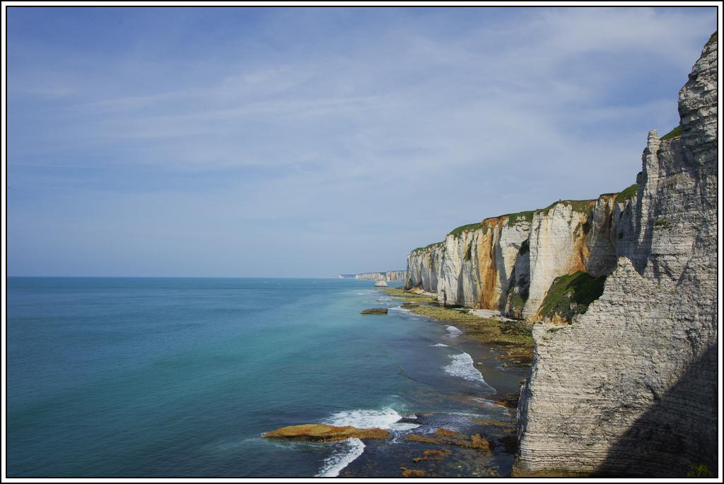 Sortie en Normandie avec des falaises, la mer, les vaches .... K5007613