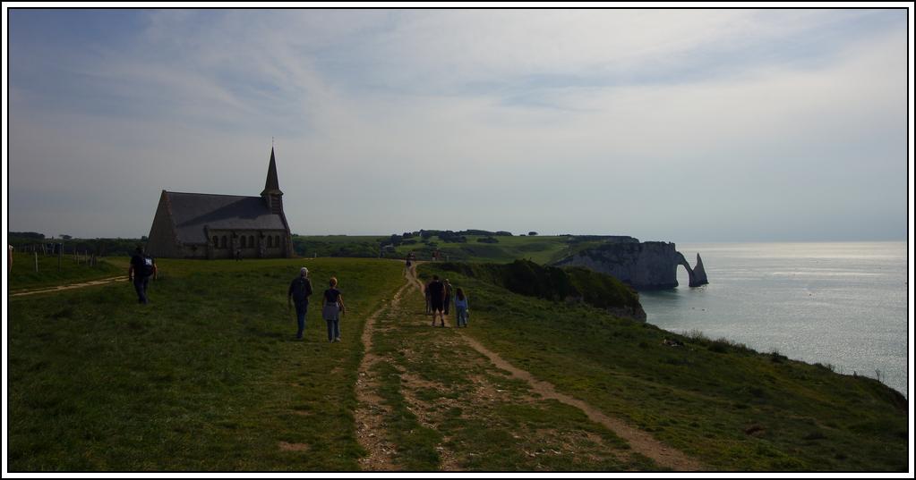 Sortie en Normandie avec des falaises, la mer, les vaches .... K5007629